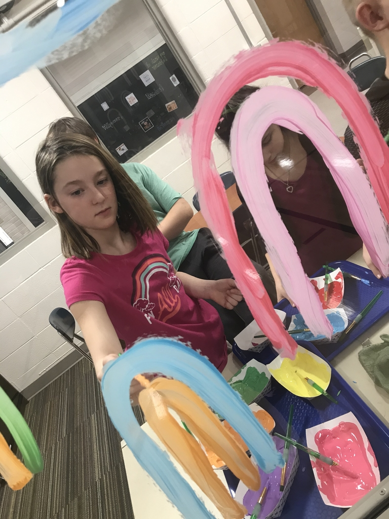 Art Club is open to 4-8th grade, anyone can join!